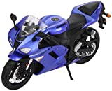 Maisto 31155 Model Motorcycle Kawasaki Ninja ZX-6R / 2007 Model / 1:12 Scale / Assorted Colours