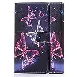tinxi® Kunstleder Tasche für Wiko Pulp Fab 4G (5,5 zoll)