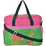 WonderKart Santy Diaper Bag (Pink And Green)