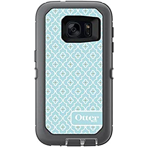OtterBox DEFENDER SERIES Case for Samsung Galaxy S7 - Retail Packaging - MORROCAN SKY (GUNMETAL GREY/WHITE/GRAPHIC)