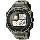 Timex Men's T49981 Expedition Vibe Shock Green Camo Resin Watch