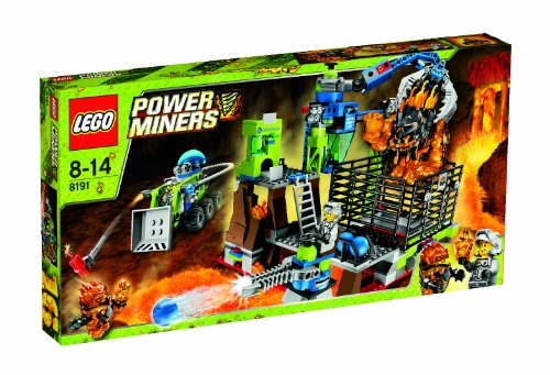 LEGO Power Miners Lavatraz 8191
