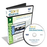 How To Make Google Blogger Web Sites, Tutorial Training on DVD, 6 Hours in 77 Computer Software Video Lessons
