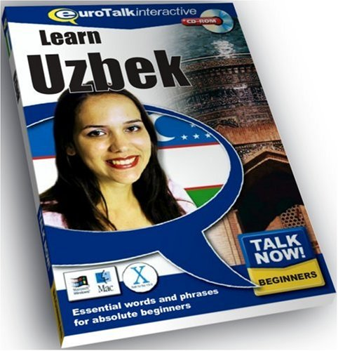 Talk Now Uzbek: Essential Words and Phrases for Absolute Beginners (PC/Mac)