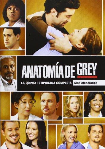 Anatomía de Grey - Temporada 5 [DVD]