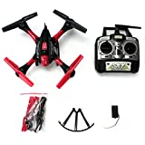 Drone-with-Camera-Hawkeye-Quadcopter-HD-Video-Easy-to-Control-Headless-Mode-One-Key-Easy-Return-Home-6-Axis-Gyroscope-Long-Lasting-Battery-KiiToys-Warranty