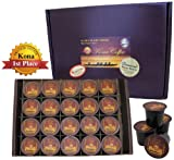 20 K-cups of 100% Pure Kona Coffee, Our Exclusive Private Reserve Diamond Kona-cups for K-cup Coffee Brewing, Box of 20 K-cups
