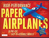 High-Performance Paper Airplanes Kit: 10 Pre-cut, Easy-to-Assemble Models [Origami Kit with Pop-Out Cards, Book, and Catapult]