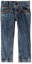 UFO Boys' Jeans (AW-16-DF-BKT-279_Indigo Light_10 - 11 years)