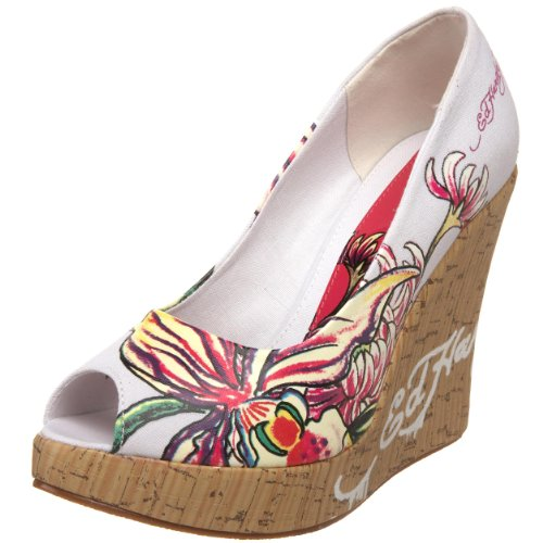 Ed Hardy Women's Casablanca Wedge