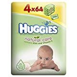 Case Saver 2 x Huggies Natural Care Baby Wipes Pack of 4 (8 packs in total)