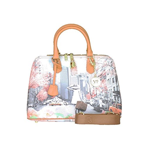 Borsa donna Y Not mod. Bugatti stampa Spring in New York - F325