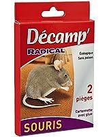 Decamp 3025 Piège à glue pour souris les 2 pièces