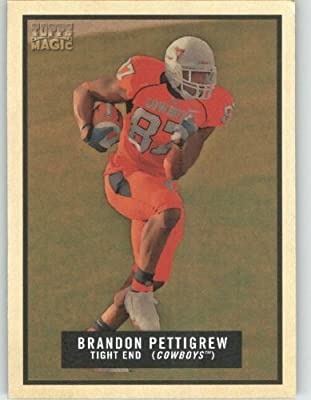 Brandon Pettigrew RC - Oklahoma State - Detroit Lions (RC - Rookie Card) - 2009 Topps Magic NFL Trading Card