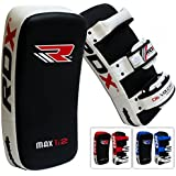 RDX MMA Strike Shield Curved Training Thai Pad Kick Focus Target Boxing Punching Mitts (SINGLE ITEM)