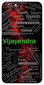 Vijayendra (God Of Victory) Name & Sign Printed All over customize & Personalized!! Protective back cover for your Smart Phone : Samsung Galaxy S6 Edge
