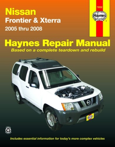 Nissan Frontier & Xterra, '05-'08 (Automotive Repair Manual) (Nissan Frontier Vault compare prices)