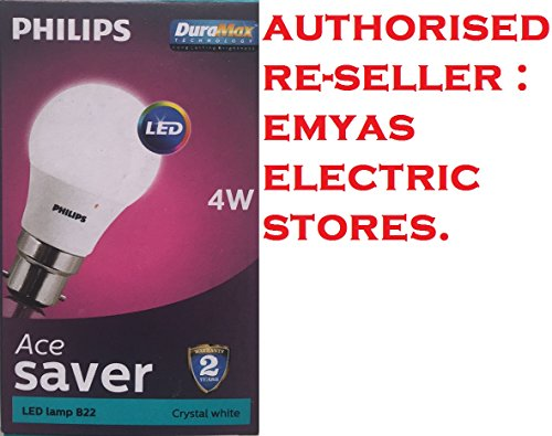 Philips-4W-B22-350L-LED-Bulb-(Crystal-White,-Pack-Of-2)