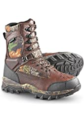 Men's Guide Gear Sasquatch Waterproof Hunting Boots with 600 gram Thinsulate Ultra Insulation Mossy Oak