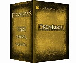 The Lord of the Rings: The Motion Picture Trilogy - Extended Edition [12-Disc DVD]