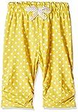 Little Kangaroos Baby Girls' Leggings (PL-11884_Yellow_9 months)