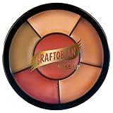 Graftobian Corrector Wheel Dark Skin Tones by Graftobian