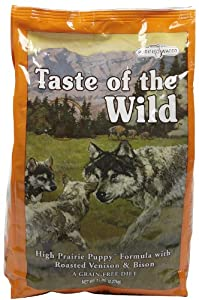 Taste Of The Wild High Prairie Puppy Roasted Venison and Bison Puppy Food 2.27 Kg by Natural Pet Products