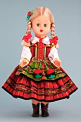Opoczyn Girl (Opoczynianka) - 18 Inch Collectible Regional Doll