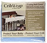 Trend-Lab-Fleece-CribWrap-Rail-Cover-for-Long-Rail-Blue-Wide-for-Crib-Rails-Measuring-up-to-18-Around