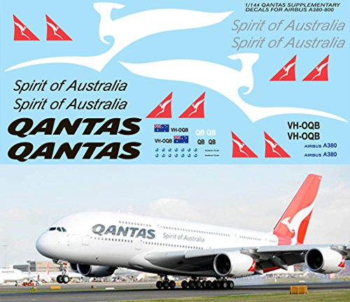 1144-QANTAS-AIRBUS-A380-800-LIVERY-DECALS-FOR-REVELL-KIT-TB-DECAL-TBD76