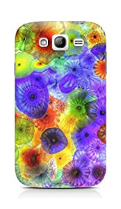 Amez designer printed 3d premium high quality back case cover for Samsung Grand Neo Plus (Jellyfish colorful bright )