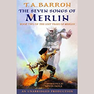 The Seven Songs of Merlin Audiobook