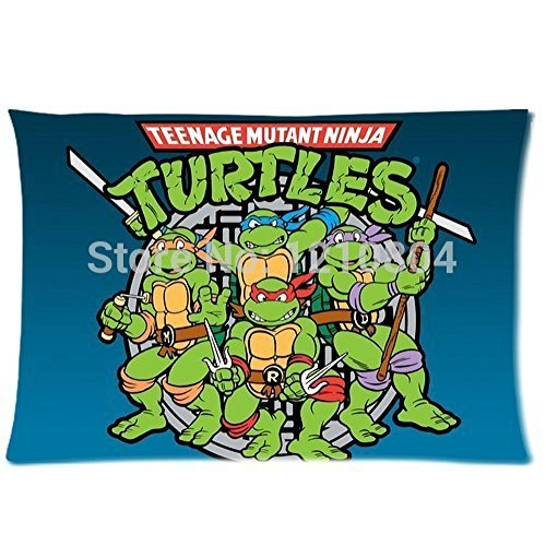 Soul Survivor Free Shipping Teenage Mutant Ninja Turtles 20X30(Two Sides) Pillow Case For Beds,Sofa (Ninja Body Pillow compare prices)