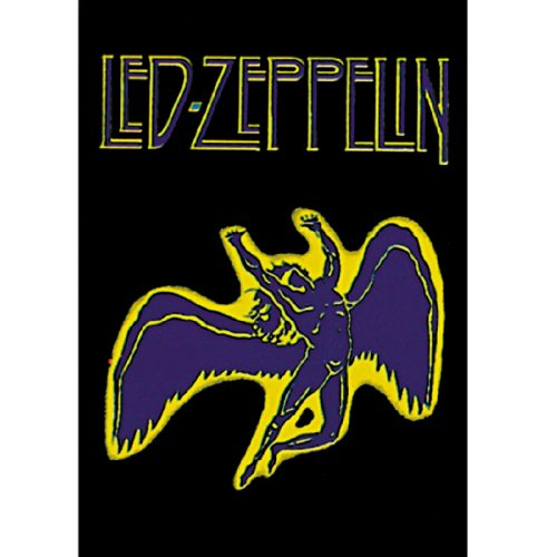 (30X40) Led Zeppelin - Swan Song Music Fabric Poster