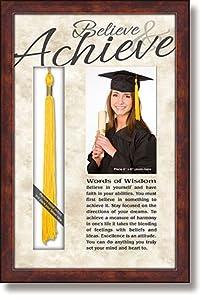 Heartfelt Her Graduation General Verse 3D Photo Frame 10x15 Inches