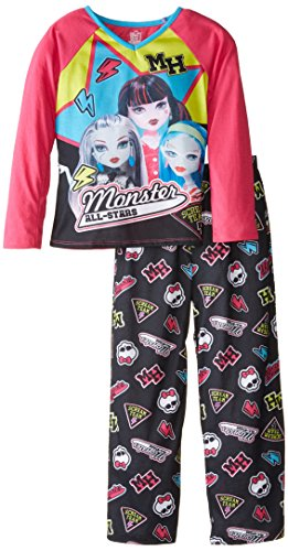 Komar Kids Big Girls' Monster High 2 Piece Jersey Sleep Set