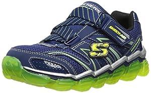 Skechers Kids 95104L Boys Air Sneaker,Navy/Lime,13.5 M US Little Kid