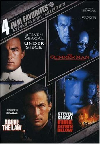 How To Download 4 Film Favorites Steven Seagal Above The Law Fire Down Below The Glimmer Man Under Siege Movie