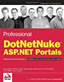 img - for Professional DotNetNuke ASP.NET Portals book / textbook / text book
