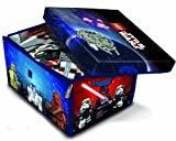 Neat-Oh! LEGO Star Wars ZipBin 1000 Brick Storage Toy Box and Playmat