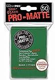 Trading Card Sleeves - 50 Standard Sized Ultra Pro Aqua Green Pro-Matte Deck Protectors.