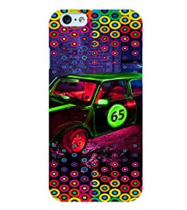 PRINTVISA Abstract Car Pattern Case Cover for Apple iPhone 6