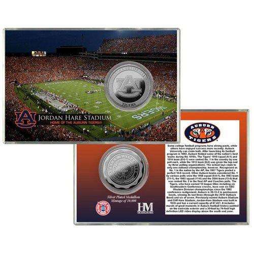 Highland Mint Auburn University Jordan Hare Stadium Silver Coin Card THM-AUBSPCCK