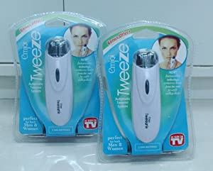 EmjQi Tweeze Hair Remover Fast and EZ Tweezer Epilator