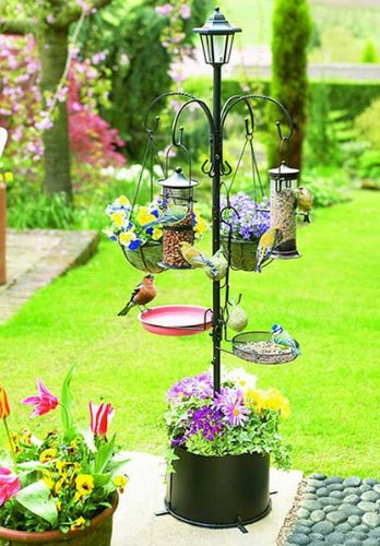 Regular Patio Bird Feeder with Solar Light 90