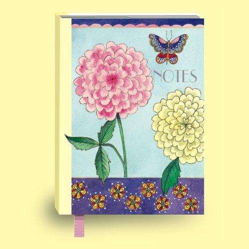 rachel-ellen-carnet-de-notes-motif-fleurs-papillon