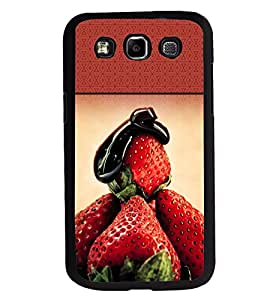 Printvisa 2D Printed Fruit Designer back case cover for Samsung Galaxy E7- D4489