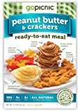 GoPicnic Peanut Butter & Crackers, 5.9 Ounce (Pack of 6)