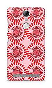 Amez designer printed 3d premium high quality back case cover for Lenovo K5 Note (Rotation arrow pattern texture)