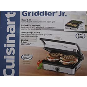 Cuisinart Griddler Jr.GRID-6SA